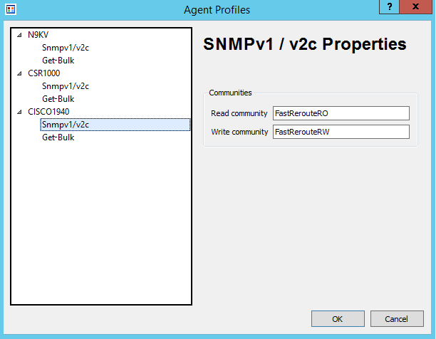 Configure SNMP on Cisco Devices - Fast Reroute