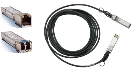 SFPs and Direct-Attach Twinax Cables