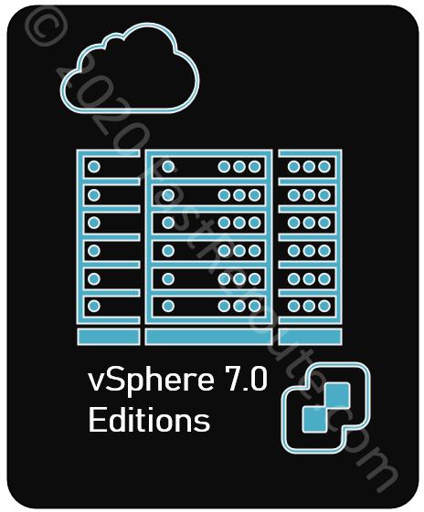 vSphere 7.0 Editions