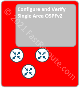 Configure and Verify Single Area OSPFv2
